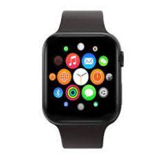 Relógio Digital Smart Watch IWO 9 Preto MKT2503AVE Acompanha Duas Pulseiras