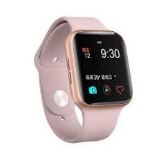 Relógio Digital Smart Watch IWO 9 Rosê MKT2503AVE Acompanha Duas Pulseiras