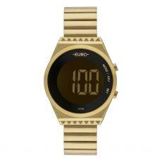 Relógio Feminino Euro Fashion Fit EUBJT016AA/4D Digital Dourado