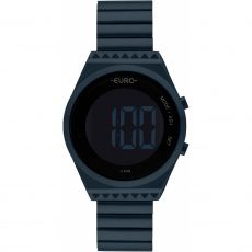 Relógio Feminino Euro Fashion Fit EUBJT016AE/4A Digital Azul