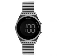 Relógio Feminino Euro Fashion Fit Eubjt016ac/4c Digital Cinza