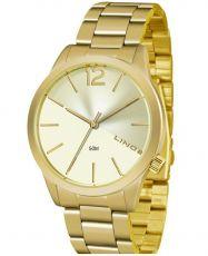 Relógio Lince Feminino Lrgj079l c2kx Dourado
