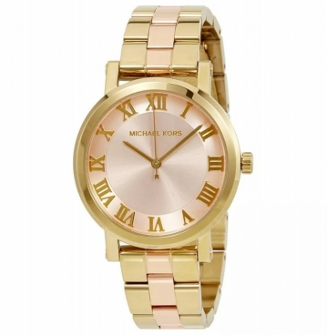 Relógio Michael Kors Analógico Feminino MK3586/5tn - Dourado e Rosê