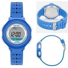 Relógio Mormaii Infanto-Juvenil Unissex MO0974/8A silicone azul