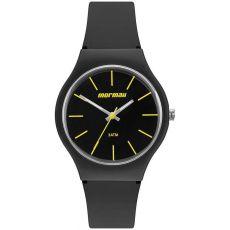 Relógio Mormaii Wave Unissex MO2035KE/8P Silicone preto