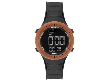 Relógio Mormaii Wave Masculino MOY1554AB/8L Esportivo Silicone