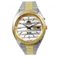 Relógio Orient Masculino 469WC1 B1KS 613233 Prata/Dourado
