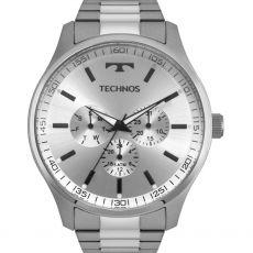 Relógio Technos Classic Steel 6p29ajo/1k Multifunção