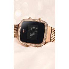 Relógio Technos Digital Rosê BJ3478AB/4P