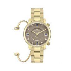 Relógio Technos Elegance Feminino Crystal 2039BU/K4C