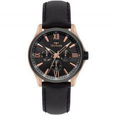 Relógio Technos Masculino 6P29AJW/8P Executive couro
