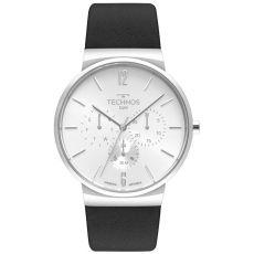 Relógio Technos Masculino Slim 6P29AKQ/0B Couro