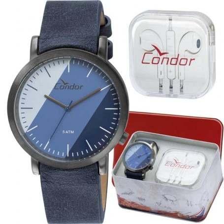 Kit Relógio Masculino Condor Co2035ktr/k2a