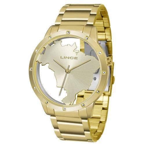 c2d702cad0c Relogio Lince Feminino Lrg4512l C1kx Dourado - Omega Ótica e Relojoaria