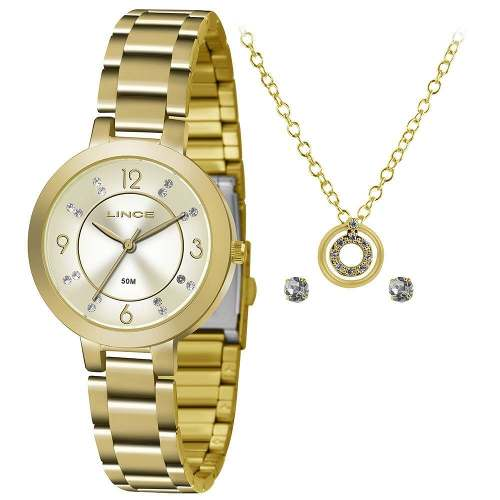 b4228c27082 Kit Relógio Feminino Lince Lrg4516l Ku72 - Omega Ótica e Relojoaria