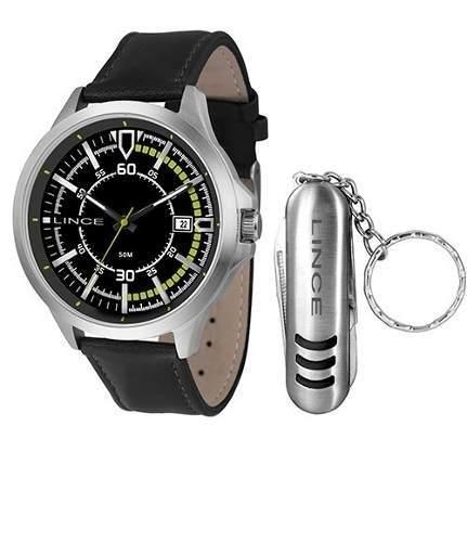 0c901708d44 Kit Relógio Masculino Lince Mrc4358s Kt39 - Omega Ótica e Relojoaria