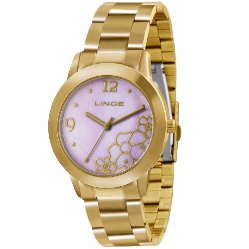 59d9322fa3e Relógio Feminino Analógico Lince Lrg4285l L2kx - Omega Ótica e ...