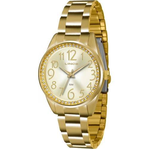 Relógio Feminino Lince Lrgj056l C2kx