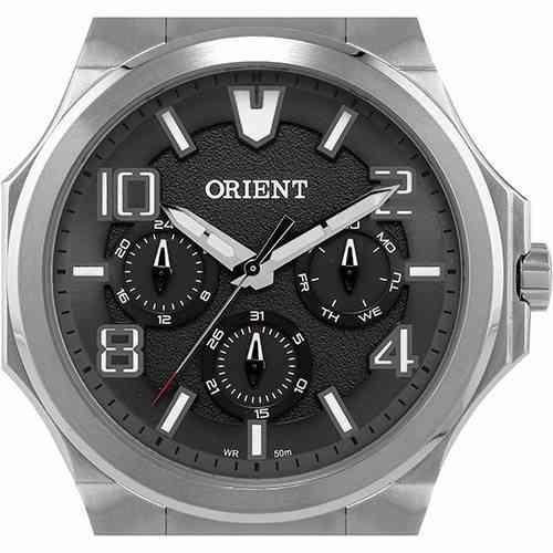 Relógio Masculino Orient Multifunção Prata Mbssm043 P2sx