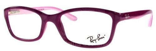 6615d1060687c Armação De Óculos Feminino Infantil Ray-ban Rb 1539l 3612 - Omega ...
