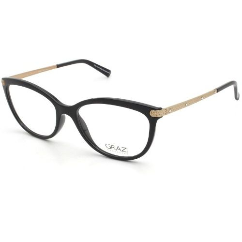 35a51bb37 Armação Óculos De Grau Feminino Grazi Massafera Gz3027b E401 - Omega ...