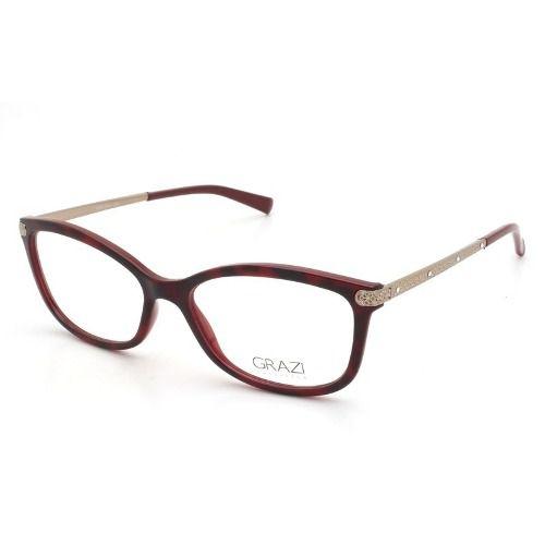 Armação Óculos De Grau Feminino Grazi Massafera Gz3026b E398