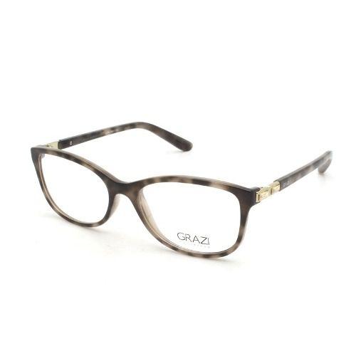 1f6cc67ad61b5 Armação Óculos De Grau Feminino Grazi Massafera Gz3032b F646 - Omega ...