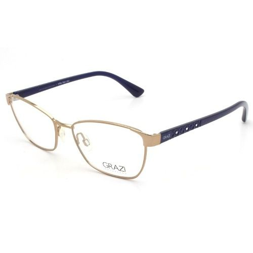 dfe95fa752c3e Armação Óculos De Grau Feminino Grazi Massafera Gz1010b E818 - Omega ...