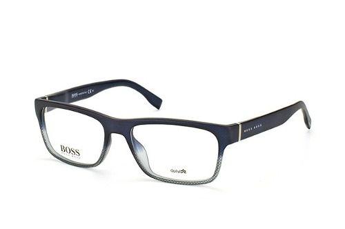 7b1f7acb50d71 Armação De Óculos De Grau Masculino Hugo Boss 0729 Kay - Omega Ótica ...