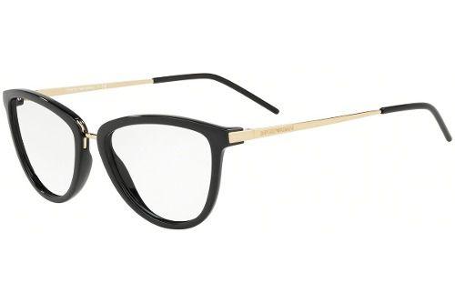 4b0c31459bf16 Armação Óculos De Grau Empório Armani Ea3137 5017 - Omega Ótica e ...