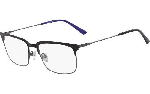 cb6d3dc8f7824 Armação Óculos De Grau Calvin Klein Ck18109 001 - Omega Ótica e ...