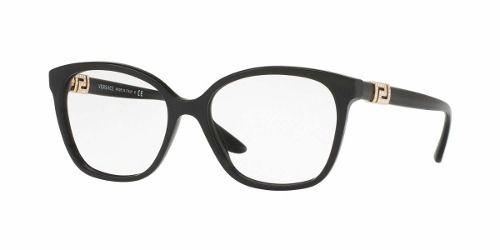 Armação De Óculos Versace Feminina Mod.3235-b Gb1