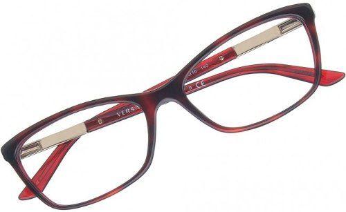 a0d0c80be Armação De Óculos Versace Feminina Mod. 3186 5184 - Omega Ótica e ...