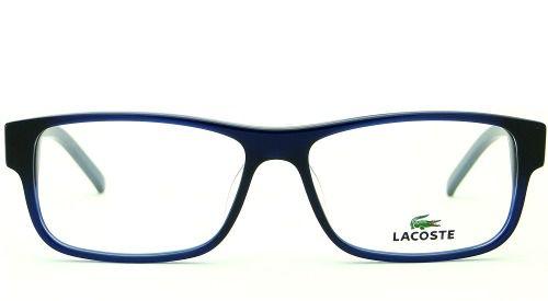 6e8b320d6d63c Armação Óculos De Grau Lacoste Masculino L2660 424 - Omega Ótica e ...