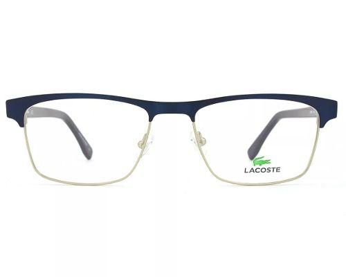 Armação Óculos De Grau Lacoste Masculino L2198 424