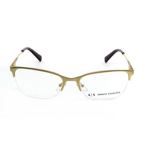be672c0a29d86 Armação De Óculos Armani Exchange Ax 1023 3124 53-17 140 - Omega ...
