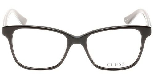 57616d378da71 Armação De Óculos Guess Gu2506 001 52-15 135 - Omega Ótica e Relojoaria