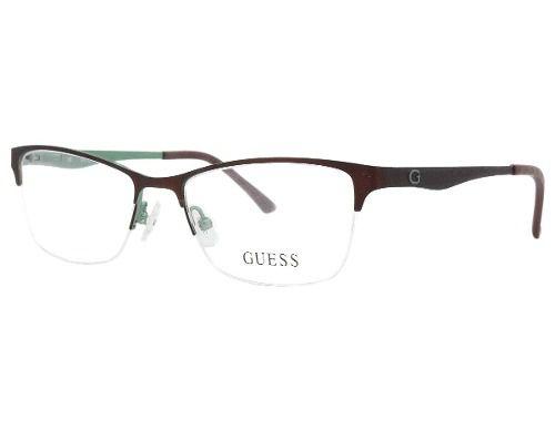 7dac5b939fe24 Armação De Óculos Guess Gu2503 049 52-17 135 - Omega Ótica e Relojoaria