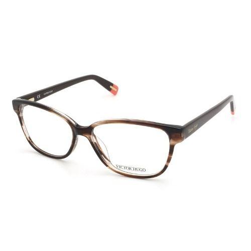 Armação De Óculos Victor Hugo Vh1710 Col.06xe 140