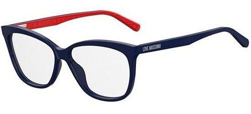 Armação De Óculos De Grau Love Moschino Feminino Mol506 Pjp