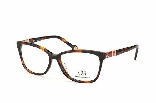 Armação De Óculos Carolina Herrera Vhe585 Col.0743 140