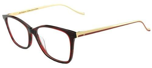 Armação De Óculos Ana Hickmann London Ll Wine 54-15 150 - Omega ... 84f2278a92