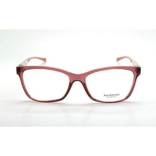 Armação De Óculos Ana Hickmann Ah6260 T05 54-17 145 - Omega Ótica e ... 9e7147f121
