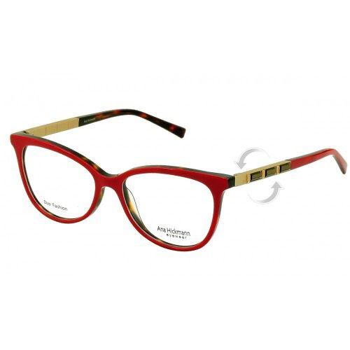 21b329aa23151 Armação De Óculos Ana Hickmann Ah6245 G22 52-16 140 - Omega Ótica e ...