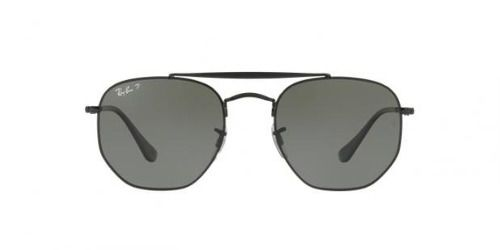 Óculos De Sol Ray Ban Rb3648 The Marshal 002/58 Polarizado Lentes Verde G15