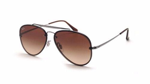 Óculos Solar Ray Ban Rb3584n 004/13 61/13 145 3n Aviador Flat