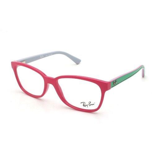 2f5cc61f852d9 Armação De Óculos Feminino Infantil Ray-ban Rb1571l 3715 - Omega ...