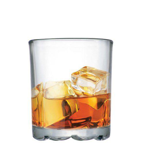 Conjunto Whisky Mirage On The Rocks Vidro De 250ml Ruvolo