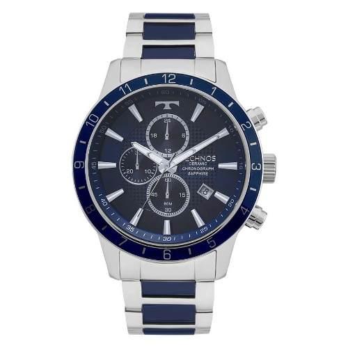 Relógio Technos Prateado Masculino Cerâmica Js15fj/1a