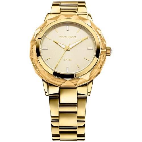 Relógio Technos Elegance Feminino Crystal 2035mcm/4x